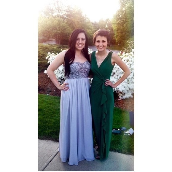 Ralph Lauren Dresses Forest Green Prom Dress Poshmark